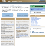 NMLS Front Page